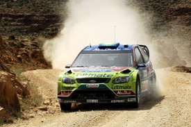 Mikko Hirvonen, Ford, Jordan Rally, 2010