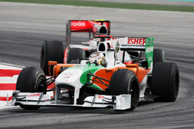 Adrian Sutil, Force India, Sepang 2010