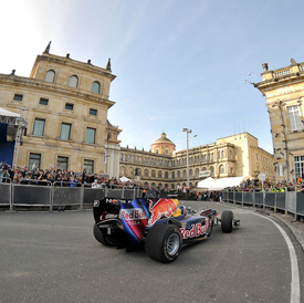 David Coulthard, Red Bull demo in Bogota