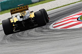 Robert Kubica, Renault, Malaysian GP