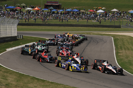 Barber IndyCar start 2010