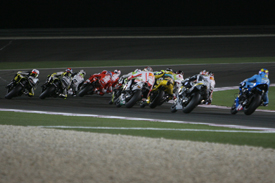 Qatar MotoGP start 2010