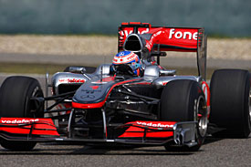 Jenson Button, McLaren, China 2010