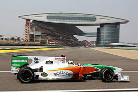 Adrian Sutil, Force India, China, 2010