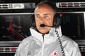 Martin Whitmarsh, McLaren, China 2010