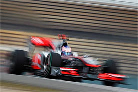 Jenson Button, McLaren, Chinese GP