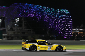 Phoenix/Carsport Corvette, Abu Dhabi qualifying 2010