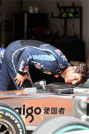 Mark Webber, Red Bull, Chinese GP