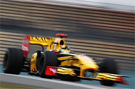 Robert Kubica, Renault, Chinese GP