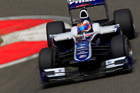 Rubens Barrichello, Williams, China 2010