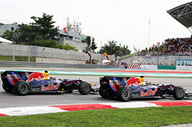 Webber will hope to steal the lead this time