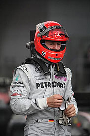 Michael Schumacher, Mercedes, Chinese GP