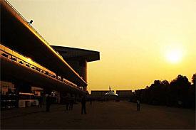 Chinese GP paddock