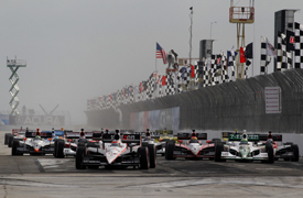 St Petersburg IndyCar start 2010
