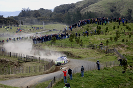 Jari-Matti Latvala, Ford, Rally New Zealand 2008