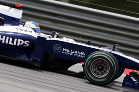 Rubens Barrichello, Williams, Sepang 2010
