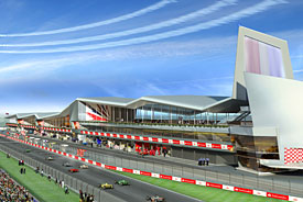 Silverstone's new pit complex