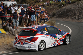 Kris Meeke, Peugeot, Rally Islas Canarias