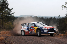 Sebastien Ogier, Citroen Junior, Rally of Turkey 2010