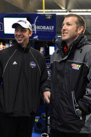 Chad Knaus and Alan Gustafson