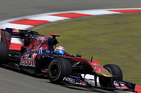Sebastien Buemi, Toro Rosso, China 2010