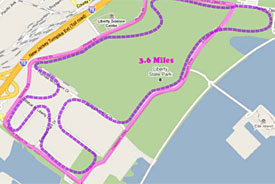 Jersey City's proposed circuit