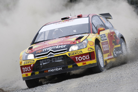 Petter Solberg, Solberg Citroen, Rally New Zealand 2010