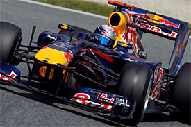 Sebastian Vettel, Red Bull, Spanish GP