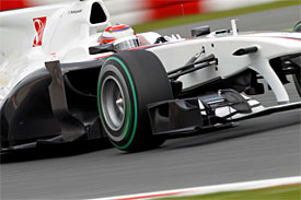 Kamui Kobayashi, Sauber, Spanish GP