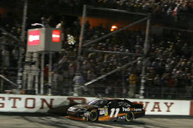 Denny Hamlin wins at Darlington, 2010