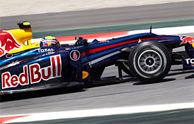 Mark Webber, Red Bull, Spanish GP