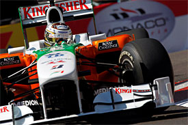Adrian Sutil, Force India, Monaco GP