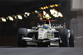 Sergio Perez at Monaco