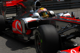 Lewis Hamilton, McLaren, Monaco 2010
