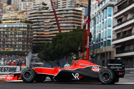 Lucas di Grassi, Virgin, Monaco 2010