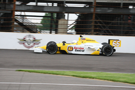 Jay Howard, Sarah Fisher Racing, Indy 500 practice 2010