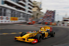 Robert Kubica, Renault, Monaco GP
