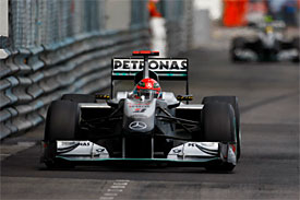 Michael Schumacher, Mercedes, Monaco GP