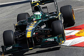 Heikki Kovalainen, Lotus, Monaco GP