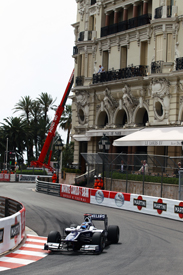 Rubens Barrichello, Williams, Monaco 2010