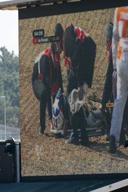 Ben Spies' practice crash at Le Mans