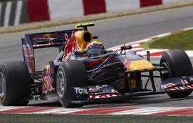 Mark Webber, Red Bull, Catalunya 2010