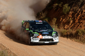 Ken Block, Monster Ford, Rally of Portugal 2010