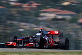 Jenson Button, McLaren, Turkish GP