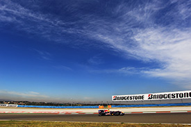 Perfect weather at Istanbul Park