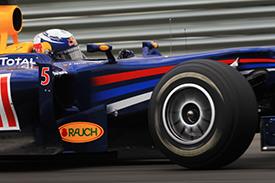 Vettel topped final practice
