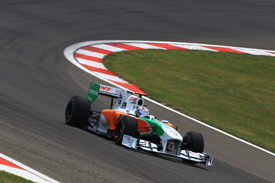 Adrian Sutil, Force India, Istanbul 2010