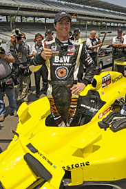 Bruno Junqueira, FAZZT, Indianapolis 500