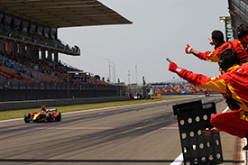 Clos stormed to his maiden GP2 win