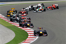 Turkish GP start